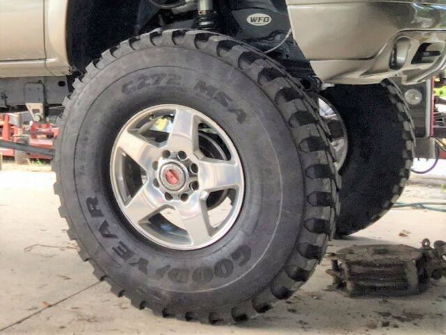 12 00r20 Goodyear G272 44 Inch Tall Rock Mud Truck Military Tires For Sale Online Ebay