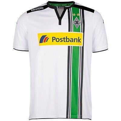 Kappa Borussia Mönchengladbach Home Heimtrikot 2015/2016 weiß  [402200]