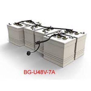 BATTERY-WATERING-SYSTEM-BG-U48V7A-8-BATTERIES-6V-FLOW-RITE-EACH