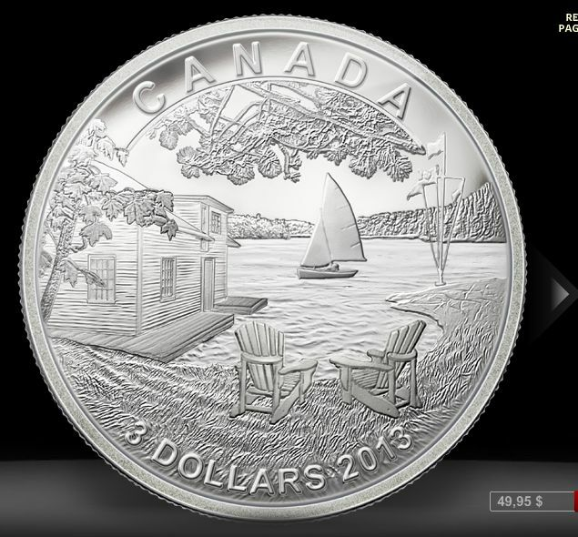 2013 Martin Short Presents Canada Fine Silver $3 Proof Coin, Only 5,923 RCM
