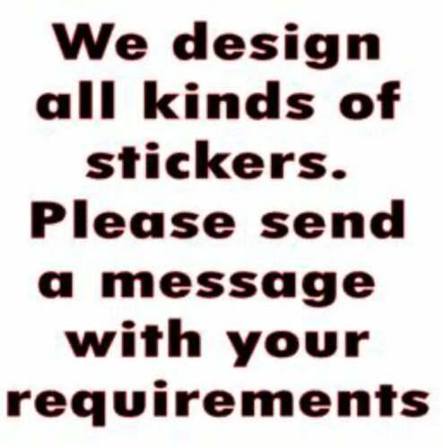 """Lambretta Stickers AF Sticker RB TS1 GP SX TV LI AF Letter Stickers 3/"""" x 3/"""""""