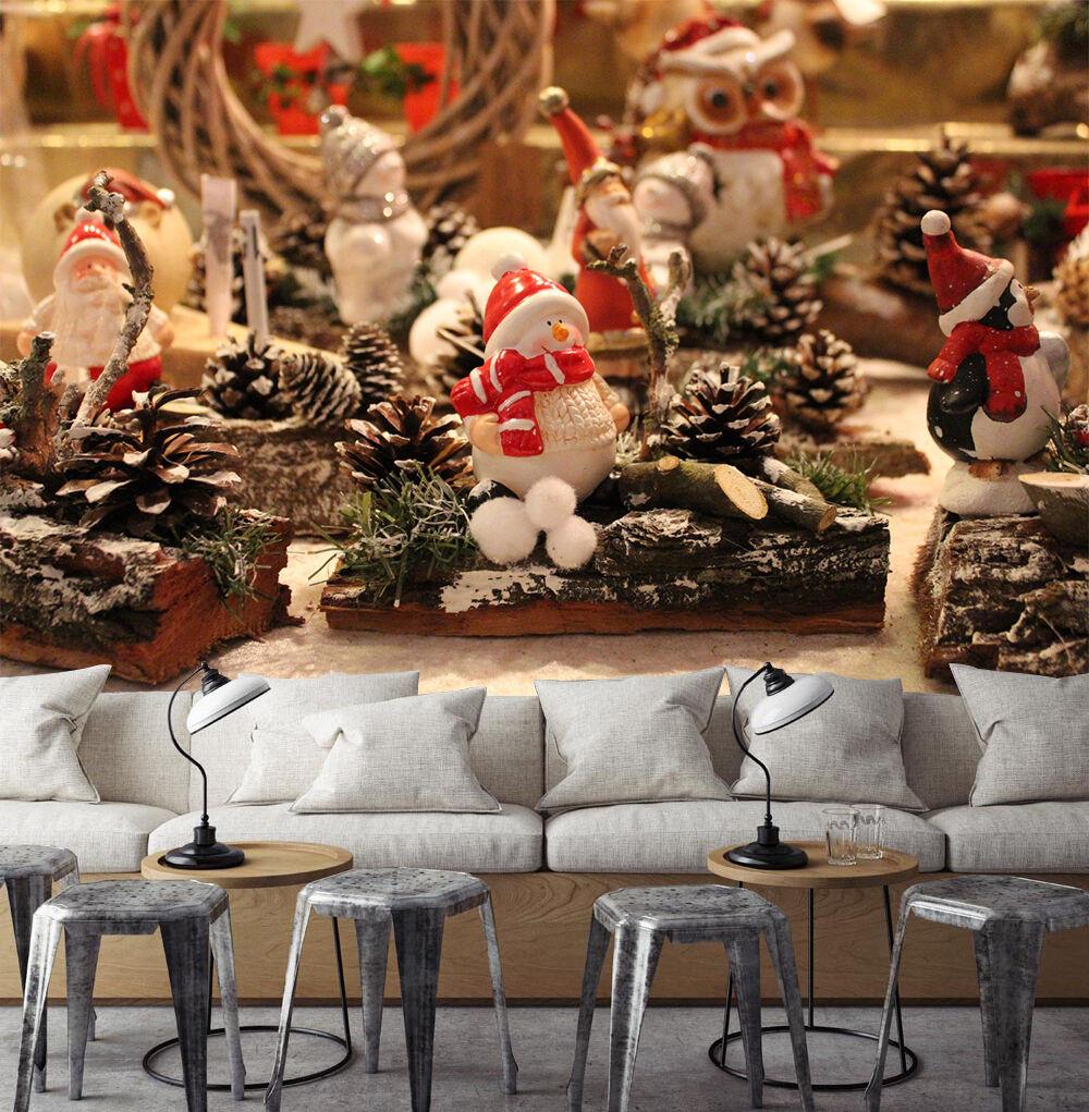 3D Weihnachten white Spielzeug 23 Fototapeten Wandbild BildTapete Familie DE