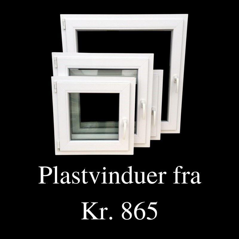 Udhusdør, plast, b: 88 h: 198