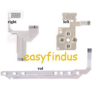for-PSP-1000-series-D-pad-amp-Light-Right-volume-home-start-key-cross-button-flex