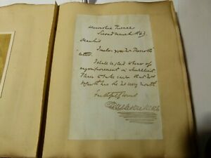 Charles Dickens Signature 18thC 2nd Duke Wellington Personal CDV Royalty Album