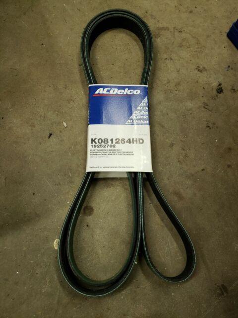 ACDelco K080897HD Specialty Heavy Duty V-Ribbed Serpentine Belt