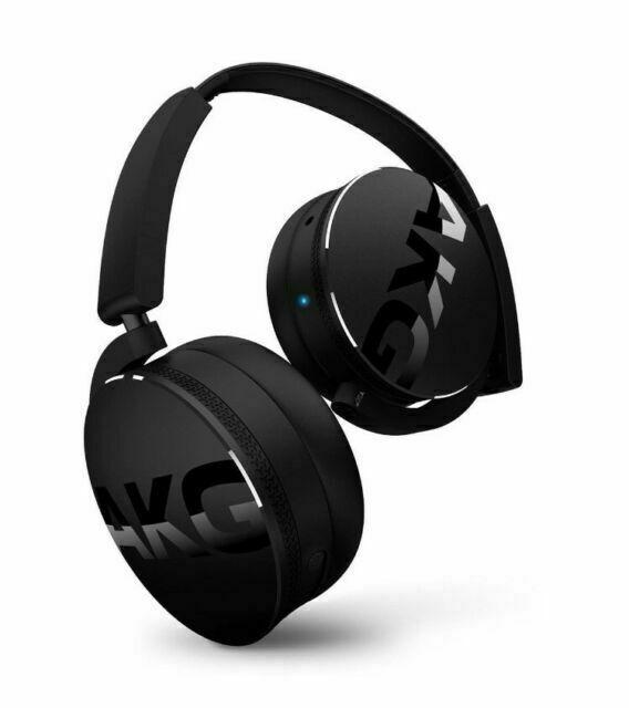 AKG Y50BT Black On the Ear Headphone for sale online | eBay