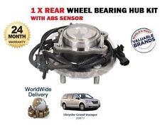FOR CHRYSLER GRAND VOYAGER 2.8DT 3.8 V6 9/2007-2011 REAR WHEEL BEARING HUB KIT