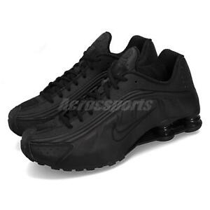 f7a009474 Nike Shox R4 OG Triple Black 2019 Retro Edition Mens Running Shoes ...