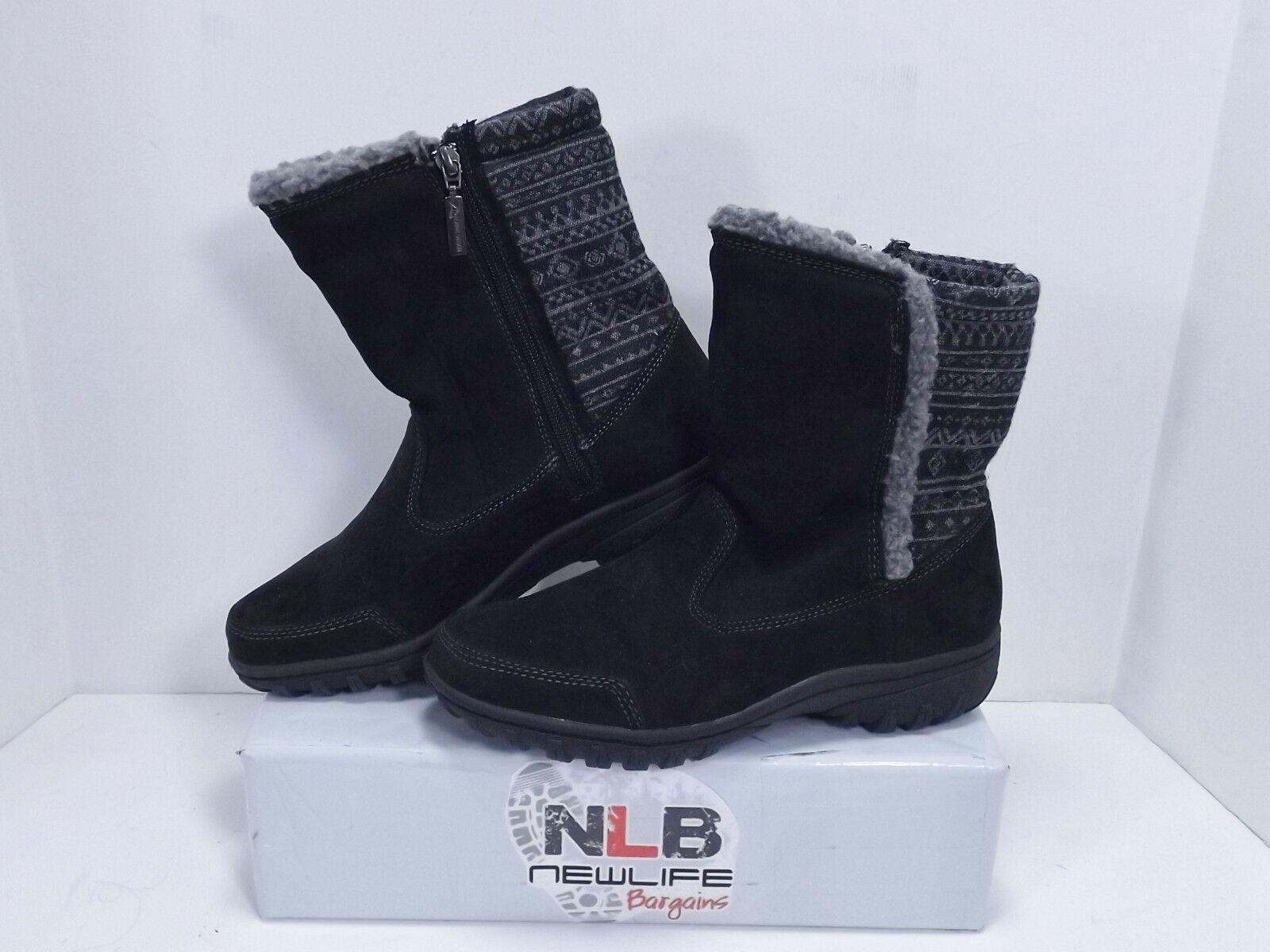 Alpine Design Caldwell Boots JW2512 Black Women's Size 8