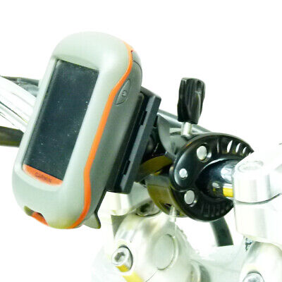 K-tech Clamp Motorbike Scooter Mirror GPS Mount for Garmin Oregon Series