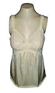 vintage-Camisole-Olga-Stretch-Nylon-Lace-Beige-Beautiful-1090-Mint-36