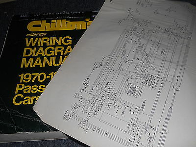 1970 1975 Chevrolet Impala Caprice And Full Size Wiring Diagrams Sheets Set Ebay