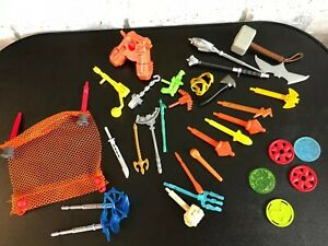 Mixed-Lot-Of-32-Fisher-Price-Imaginext-Projectiles-Missiles-Discs-Weapons