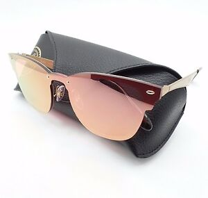 4f69b209cc Ray Ban 3576 N 043 E4 47 Brushed Gold Pink Mirror Sunglasses ...