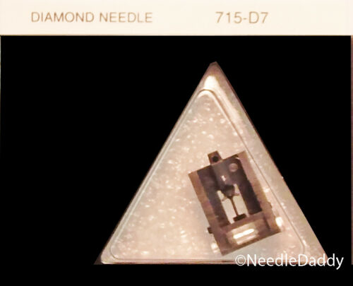 STYLUS NEEDLE 715-D7 for Fisher Sanyo ST100SD ST-100SD fits SANYO MG-100D New