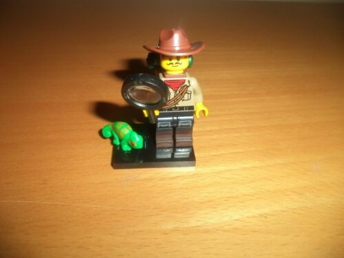 LEGO Collectible Minifigures SERIES 19 Jungle Explorer Figure  Adult Owned