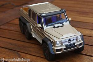 mercedes benz 6x6 g klasse amg g63 1 24 mit led. Black Bedroom Furniture Sets. Home Design Ideas