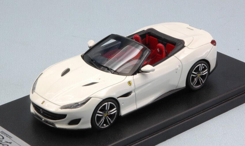 Ferrari portofino offene dach italia weiße 1 43 modell looksmart