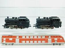 AZ632-1# 2x Märklin H0/AC 3000 Locomotora de vapor/Locomotora ténder/