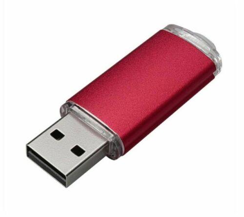Wholesale Multicolor 1GB USB 2.0 Flash Drive Metal Memory Stick For Laptop Hot