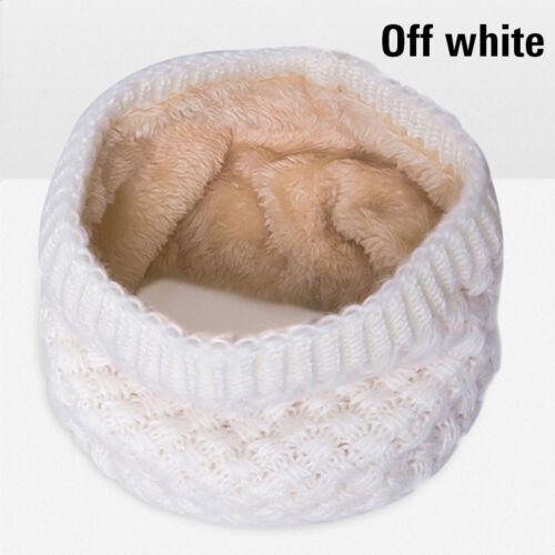 Soft Men Women Scarf Winter Warm Cotton Scarves Knitted Collar Bandanas New