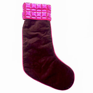 Image Is Loading Old Navy High Quality Maroon Hot Pink Christmas