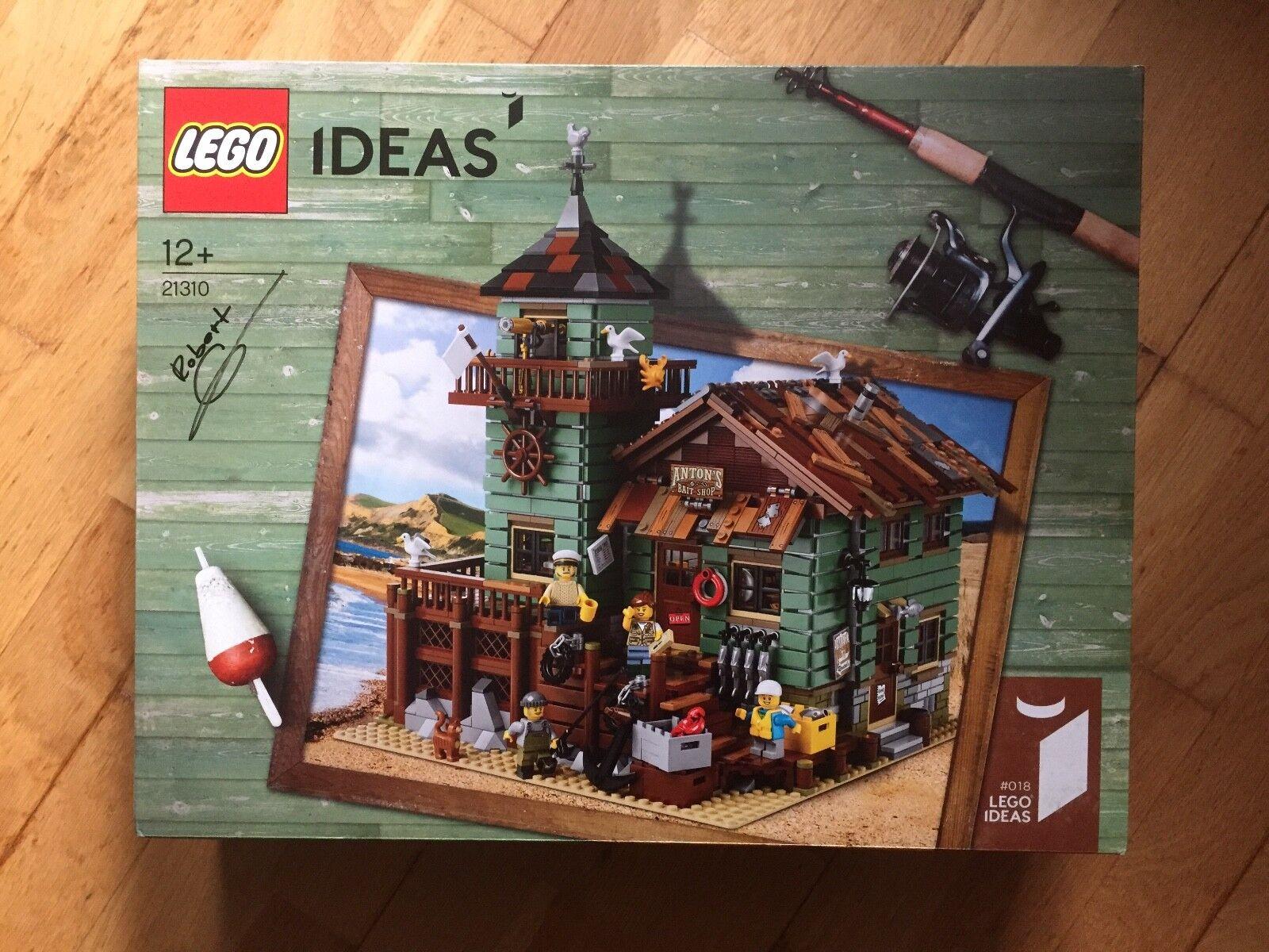Old Signé Boutique 21310 Fishing Par Lego dCtsQhr