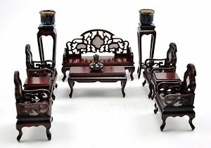 miniature doll furniture. Image Is Loading Vintage-Chinese-ROSEWOOD-CHAIR-INLAID-miniature-DOLL- Furniture- Miniature Doll Furniture N