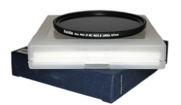 Bien Informé Haida Pro Ii (proii) Mc Filtre Neutre Nd 3.0 Slim 10 Stop 67 Mm - 67 Mm Demande DéPassant L'Offre