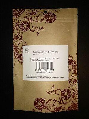 Free Shipping Ginseng Extract Powder, 20% Ginsenoside , Rg1 Rb Rd, anti-fatigue