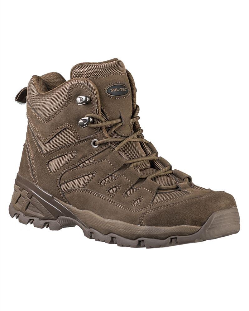 Mil-Tec Squad Stiefel 5 Inch 39-46 Schuhe Trekkingschuhe Outdoorschuhe Stiefel 39-46 Inch 13b3a7