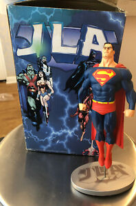 DC-DIRECT-SUPERMAN-JLA-COVER-TO-COVER-STATUE-LIMITED-EDITION-JUSTICE-LEAGUE