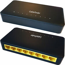 8 Port/Way 1000mbps Gigabit Ethernet Network Switch - RJ45 CAT6 Splitter Router