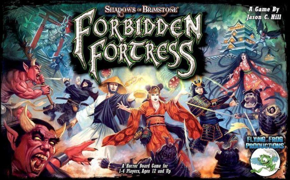 Ombres de Brimstone - Forbidden Fortress - Core Set