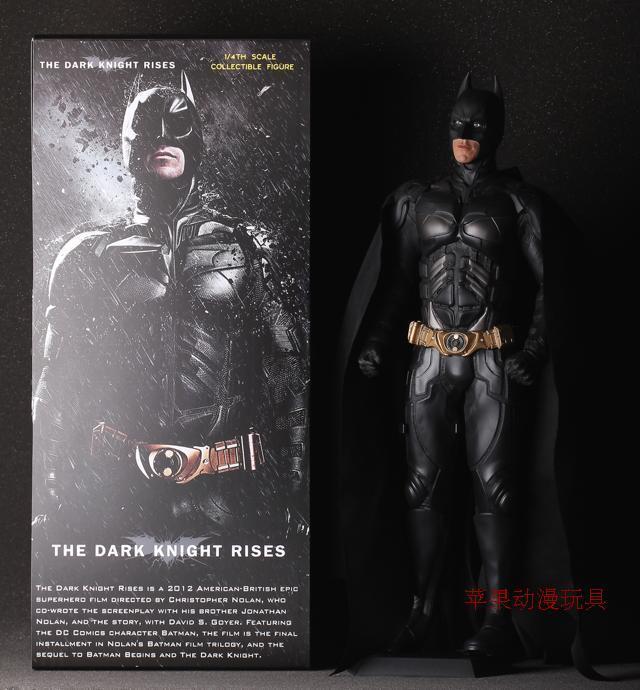 The Dark Knight Rises Batman Bruce Wayn Big 50CM 1 4 Scale Figure Statue IN BOX
