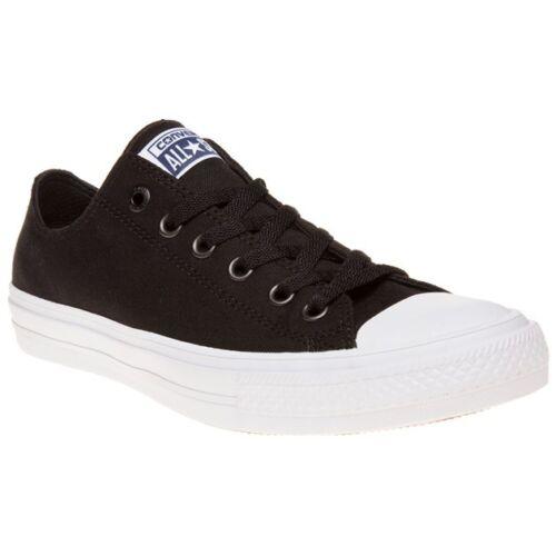 converse chuck taylor 2 low black