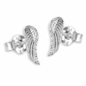 Billiger Preis Flügel Ohrstecker 925 Silber Engelsflügel A19013
