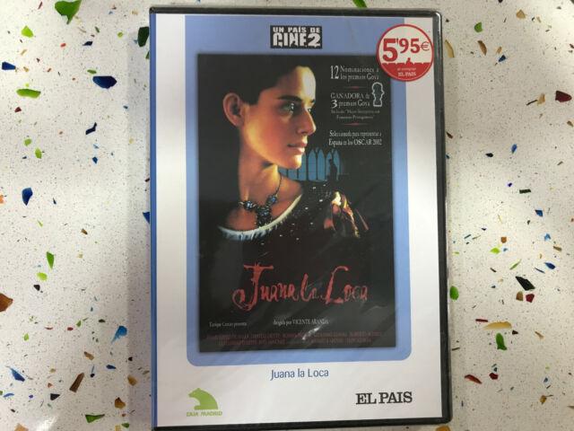 JUANA LA LOCA DVD NUEVO NEW PRECINTADO VICENTE ARANDA