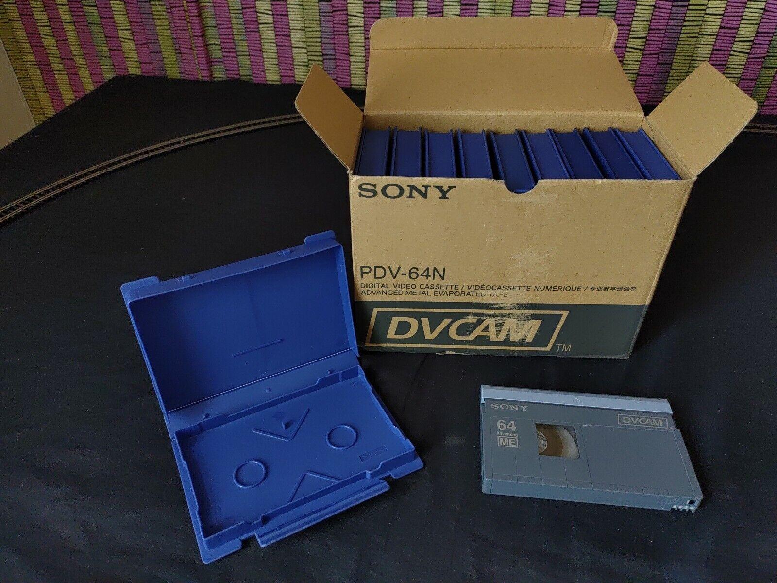 Sony DVCAM PDV-64N Tapes (Pack of 10)