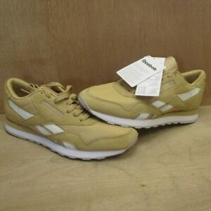 competitive price 5e2d2 430da Details about Reebok Classic RS Trainers Men's Beige Tan Gold Suede Nylon  UK 6 EUR 39 NEW