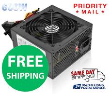 POWER SUPPLY 600W ATX 20 Pin 24 Pin SATA - NEW! PRIORITY MAIL FREE SHIPPING