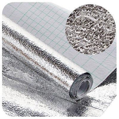 Aluminum foil Self Adhesive Xmas Wallpaper Kitchen Shelf Liner Contact Paper