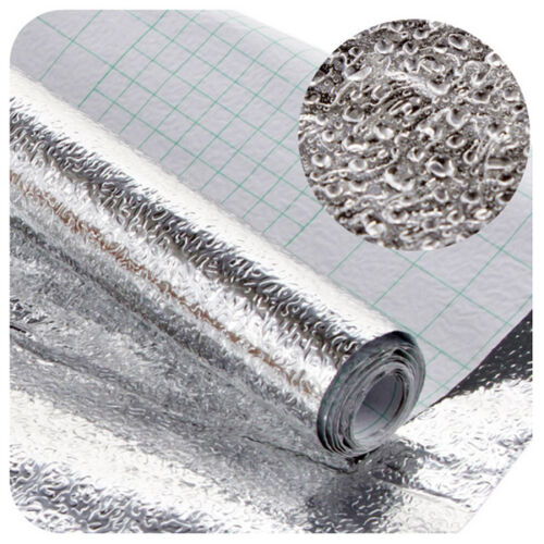 Aluminum foil Self Adhesive Xmas Wall Sticker Kitchen Shelf Liner/'Contact Paper