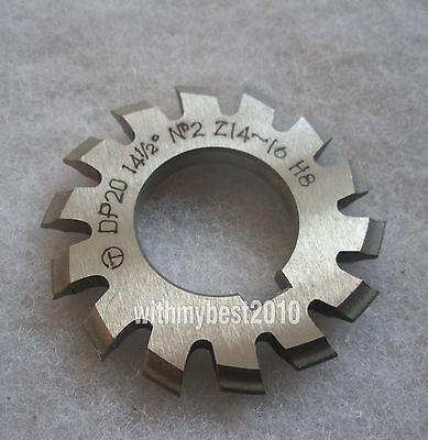Lot 1pcs Dp12 14-1//2 degree 4# Involute Gear Cutters No.4 Dp12 Gear Cutter