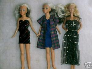 "NG Creations Two Sewing Patterns Wardrobe fits 8/"" Stacie Doll Barbie Sister"