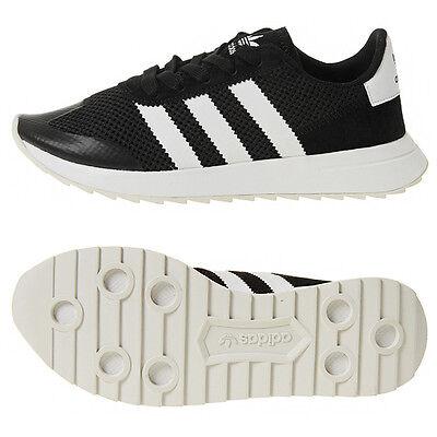 super popular c4a97 0b715 Adidas Womens Original Flashback BB5323 Athletic Sneakers Trainers Shoes  Black