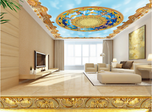 3D Angel Art Paradise 7 Ceiling Wall Paper Print Wall Indoor Wall Murals CA Kyra