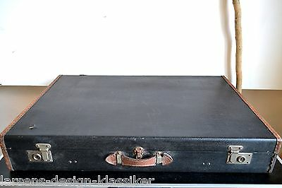 Oldtimer Reisekoffer Mercedes Autokoffer Baisch Holz Koffer Kiste Sattlerei