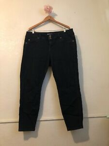 Torrid-Size-18S-Jeans-Crop-Jegging-In-Stretch-Blue-Denim-Skinny-New-High-Waist